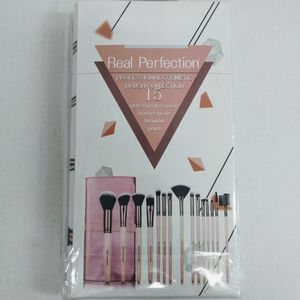 Real Perfection 15 Piece Cosmetic Brush Collection